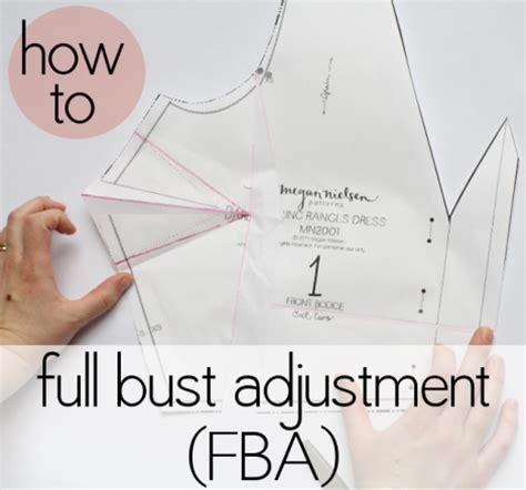 Patterns For Pirates Full Bust Adjustment | how to do a full bust adjustment fba megan nielsen