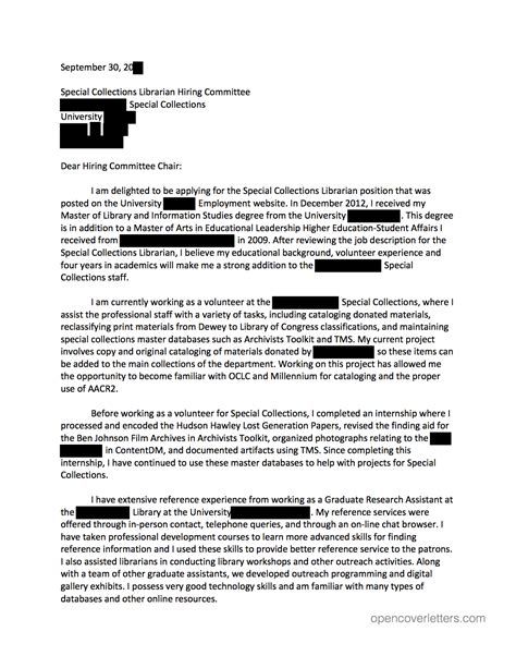 Motivation Letter For Museum Archives Museums Open Cover Letters