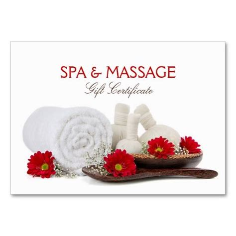 Spa Works Gift Card - massage spa salon gift certificate