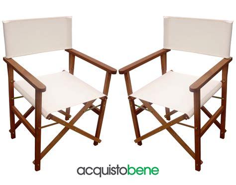 sedie da regista in legno poltrona da regista pieghevole in legno meranti e tessuto