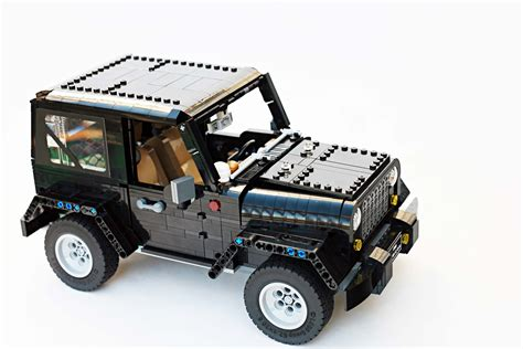How To Build A Jeep Tell Lego It Has To Build This Impeccable Fan Made Jeep