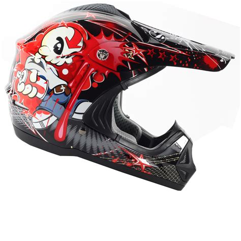 Stealth Hd204 Tagg Kids Mx Childrens Motocross Off Road