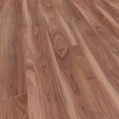 kaindl touch narrow 10mm varnished walnut laminate
