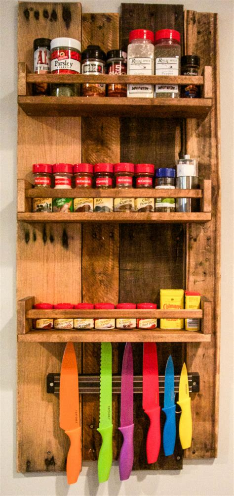 how to make spice racks for kitchen cabinets rustic wooden spice rack