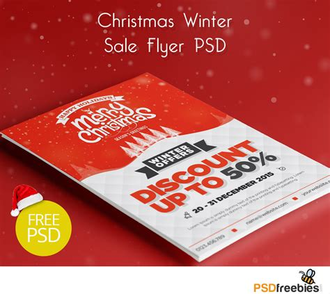 sle event flyer template winter sale flyer psd freebie psdfreebies
