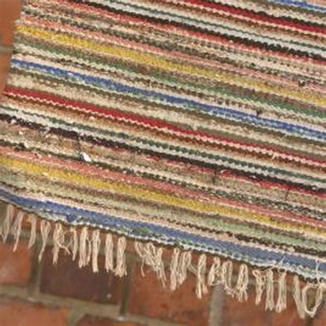 knotted rag rug crafts rugs and on