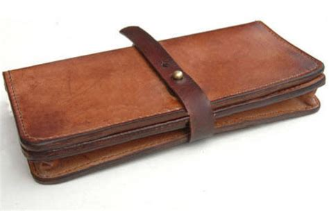 Leather Wallets Handmade - wallets handmade leather wallet a unique product by