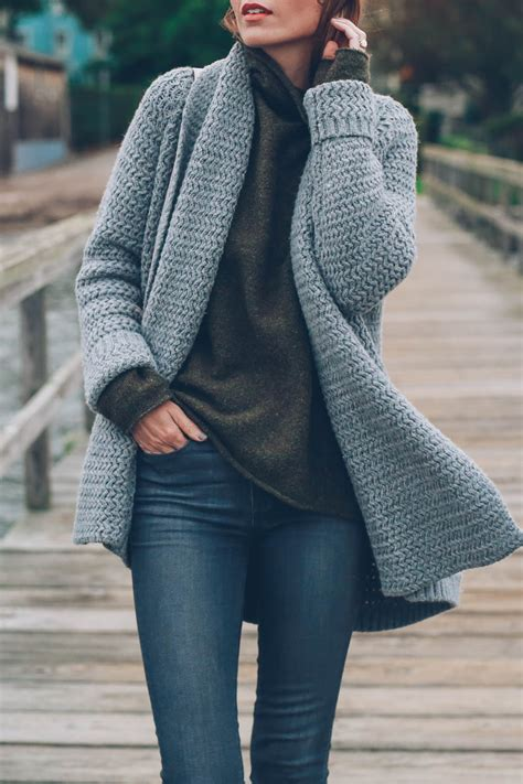 Chunky Knit Sweater the chunky knit sweater jess kirby