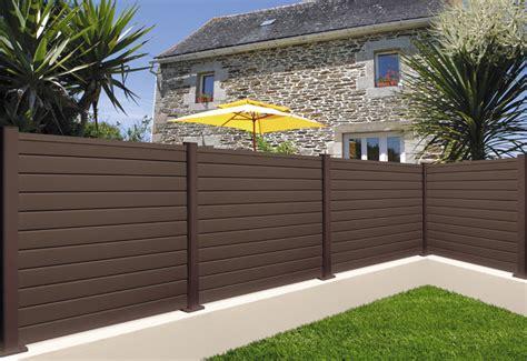 clotures de jardins votre cl 244 ture de jardin en bois composite terrasse composite polycarbonate marquises