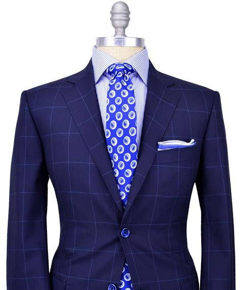pattern light blue shirt very classy and original pairing navy blue sport coat