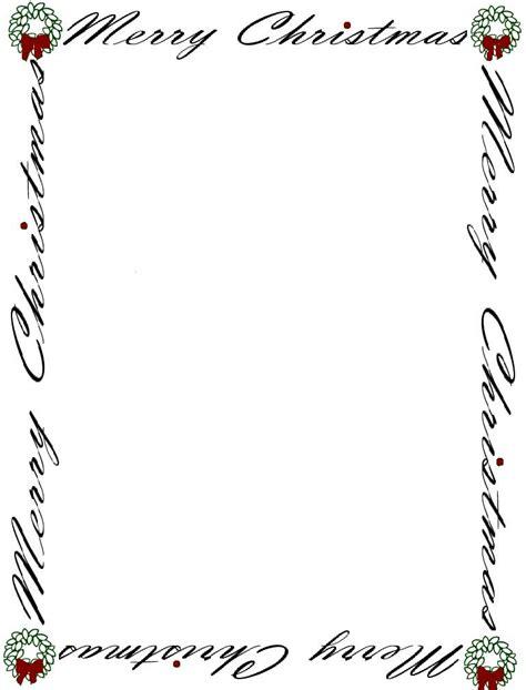 printable christmas border paper free printable christmas borders for paper christmas