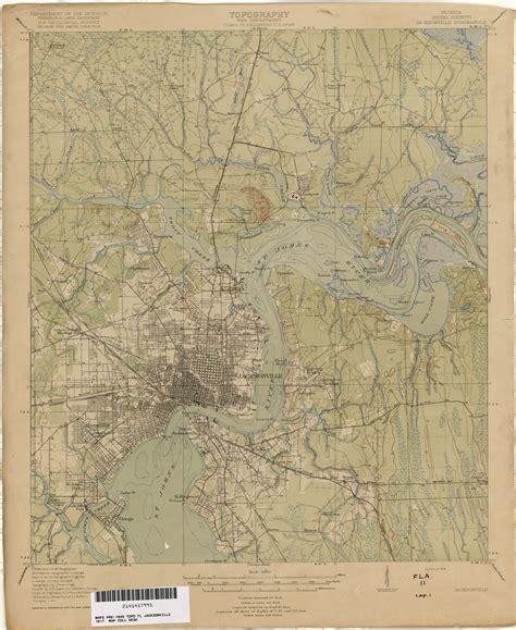 florida historical topographic maps perry casta 241 eda map