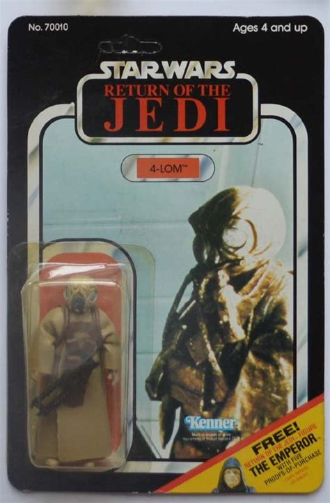 wars figure card template wars rotj 4 lom figure on card