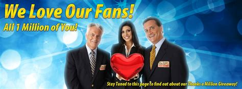 Pch Fan Page - pch fan page on facebook reaches 1 million fans thank you pch blog