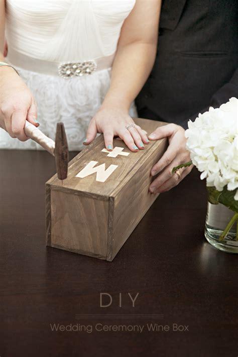 Wedding Box Ceremony by Make Your Own Wedding Ceremony Wine Box