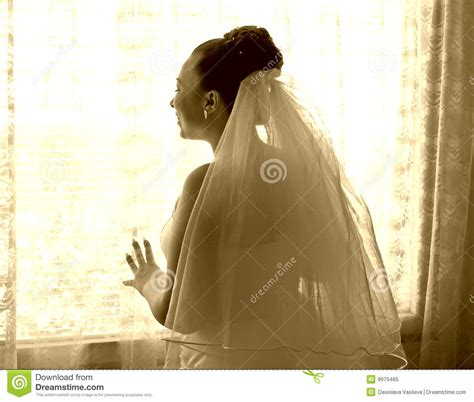 bride waiting   groom stock image image