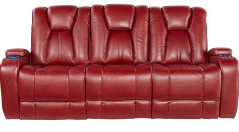 kingvale power reclining sofa 1 399 99 kingvale red power reclining sofa