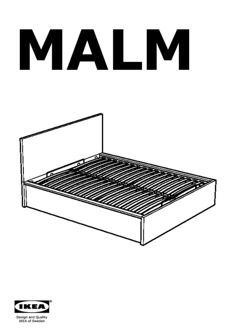 malm bed frame with storage black brown ikea canada