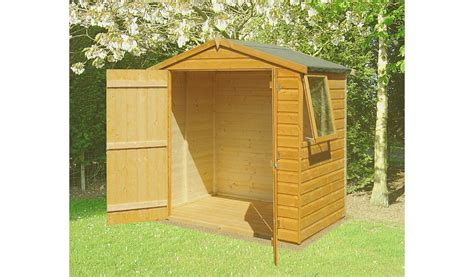6 X 4 Garden Shed by Fairwood Shiplap Door Garden Shed 6 X 4 Sheds