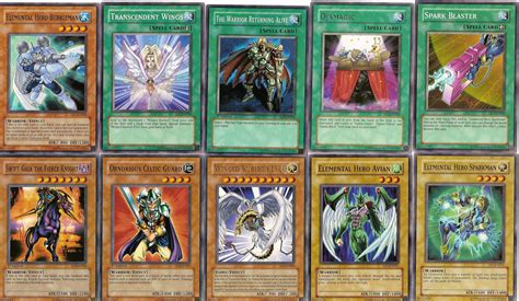 how many cards are in a yugioh deck yugioh cards in my deck 10 by inuyasha666hiei on deviantart