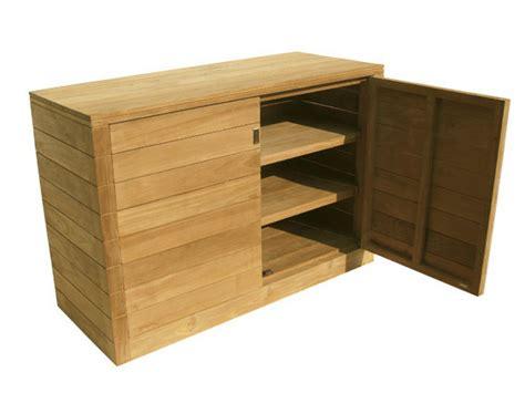 mobili giardino legno fugu mobile da giardino by il giardino di legno