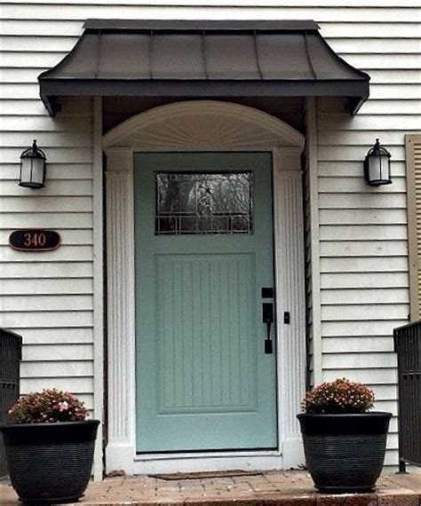17 best ideas about front door awning on metal