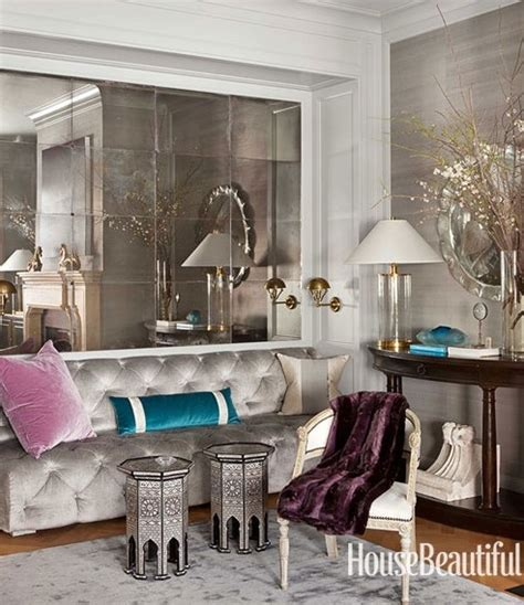 mirrored walls interior walls designs