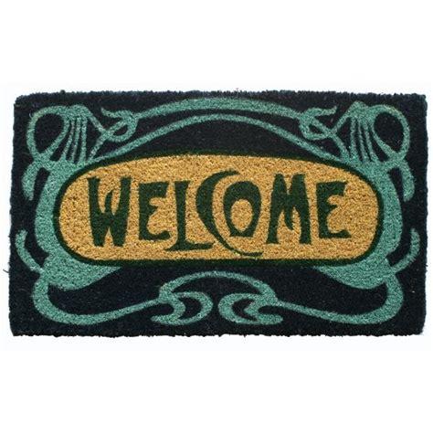 Welcome Doormats - welcome coconut fiber doormat