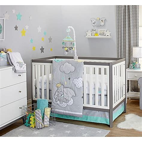 disney 174 baby dumbo big crib bedding collection bed