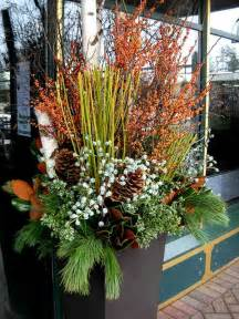 Pinterest Christmas Porch Decorating - winter container planting container gardening in the winter evergreen container color in