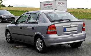 Opel Astra 1 6 File Opel Astra 1 6 Selection G Heckansicht 21 Juni