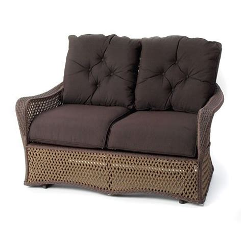 cushions for wicker loveseat lloyd flanders grand traverse loveseat glider cushions