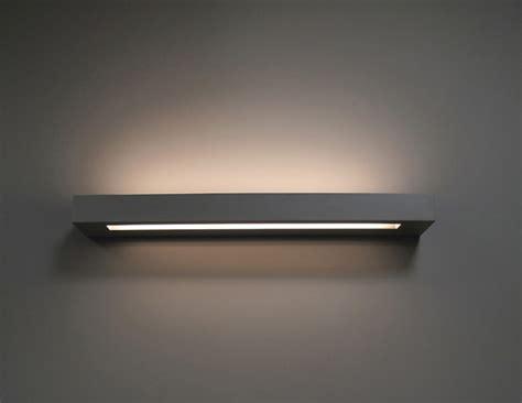 uk lights linear plaster wall light for t5 l