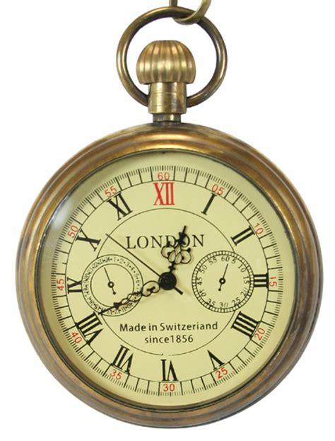 Home Decorative Items Online open face mechanical pocket watch antique gold