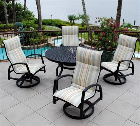 Backyard Creations Furniture Backyard Creations 5 Sanibel Dining Collection At