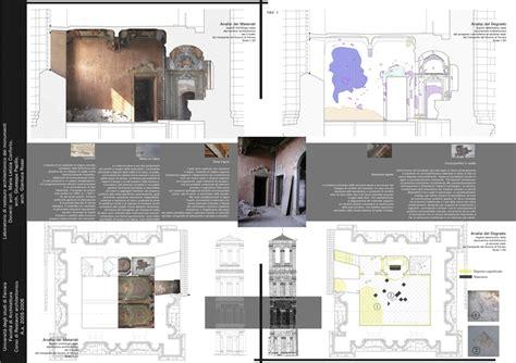tavole restauro architettura