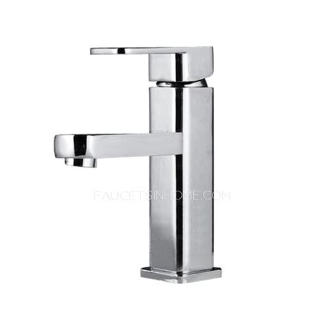 discount kitchen sink faucets discount copper square shaped bathroom sink faucet single hole