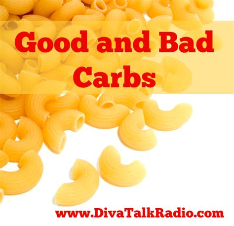 carbohydrates l g and bad carbs