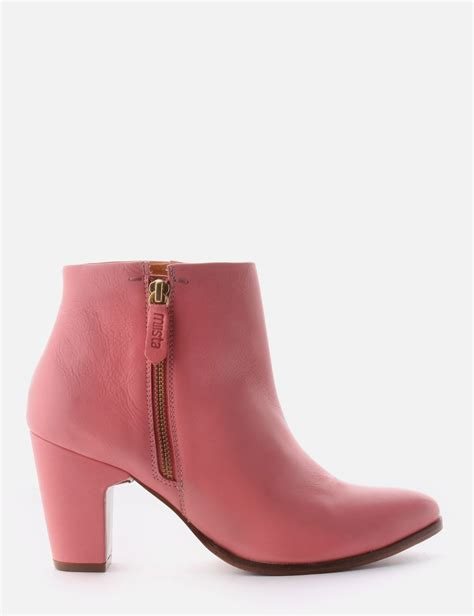 val s ankle boot pink