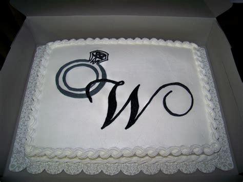 sheet cake designs for wedding shower engagement ring bridal shower cake cakecentral