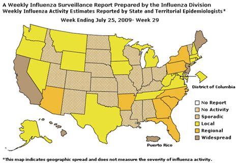 maryland flu map cdc influenza flu weekly report influenza summary