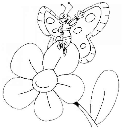 coloring pictures of large flowers butterfly coloring pages free to download