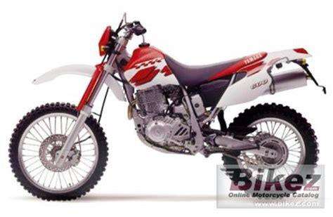 1999 yamaha tt 600 r specifications and pictures