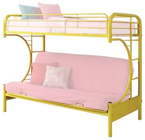 twin size futon bed black metal twin size bunk bed with lower futon sleeper