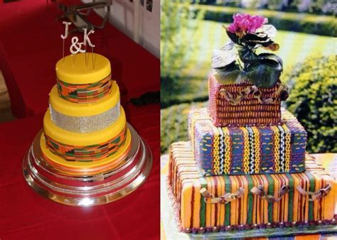 12 Unique and Stunning Ghanaian Traditional Wedding Cakes