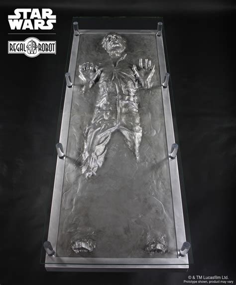 han carbonite coffee table regal robot