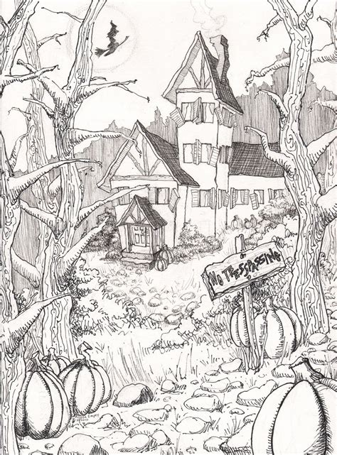 advanced halloween coloring pages to print halloween coloring pages colouring adult detailed advanced
