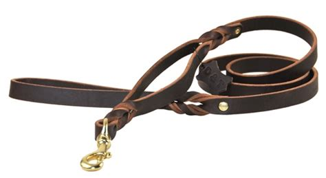Handmade Leather Leashes - dean products leather and products
