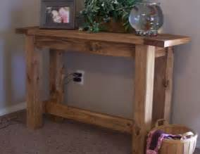 Diy Console Table Plans White Tryde Console Table Diy Projects
