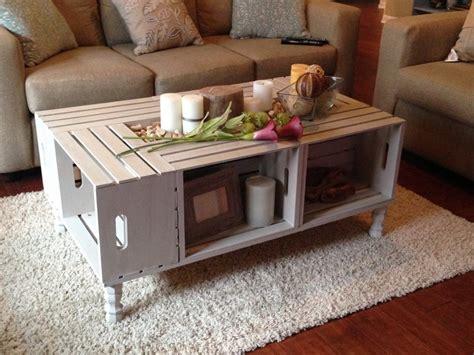 diy home salon ideen tisch aus weinkisten bauen 12 praktische diy ideen und